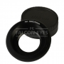 Переходное кольцо Falcon Eyes c M42 на Nikon с линзой 20131